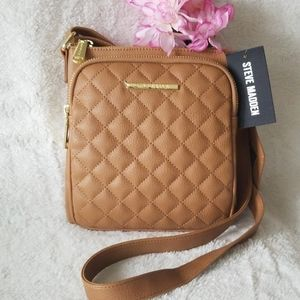 NWT Steve Madden Quilted Crossbody & Card Holder